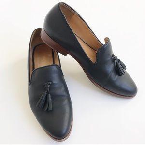 Nisolo Black Frida Loafer with Tassel Size 8